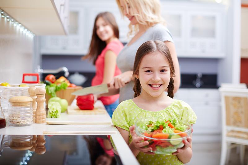 Gemüse und Obst liefern wertvolle Vitamine und Mineralstoffe