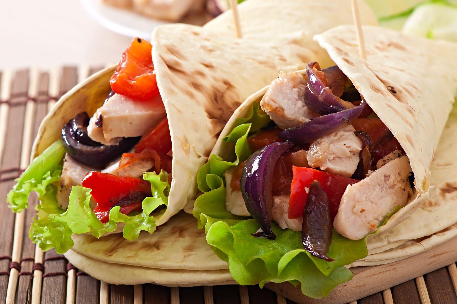 Gut gerollt, gesund gegessen: Wraps
